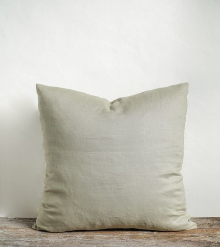 Sonny Big Button Up Pillow Cover - Sage