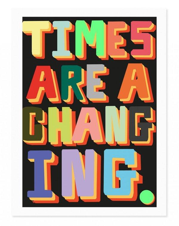 Rude Changing Art Print
