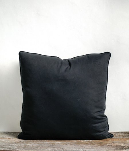 Sonny Framed Pillow Cover - Black