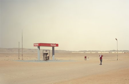 Chris Sisarich Gas Station - Egypt