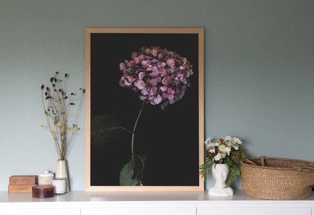 Just South West Jardin Art Print