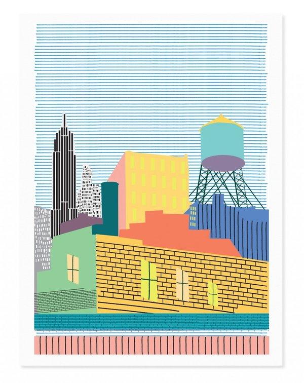 Rude New York Art Print