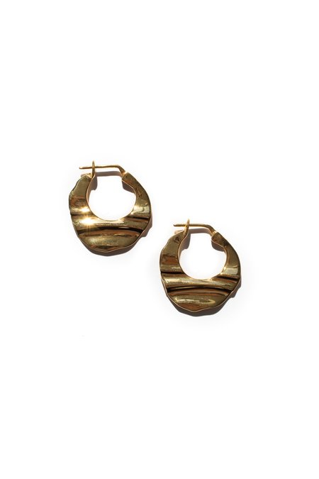 Flash Jewellery Small Haze Hoops - GOLD
