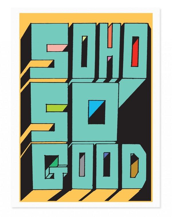 Rude Soho Art Print