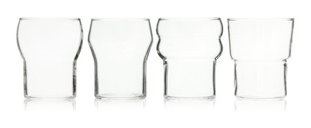 HUTA Totem set of 4 stacking glasses