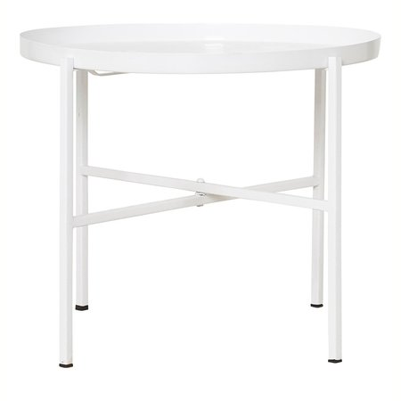 House Doctor tray side table - WHITE