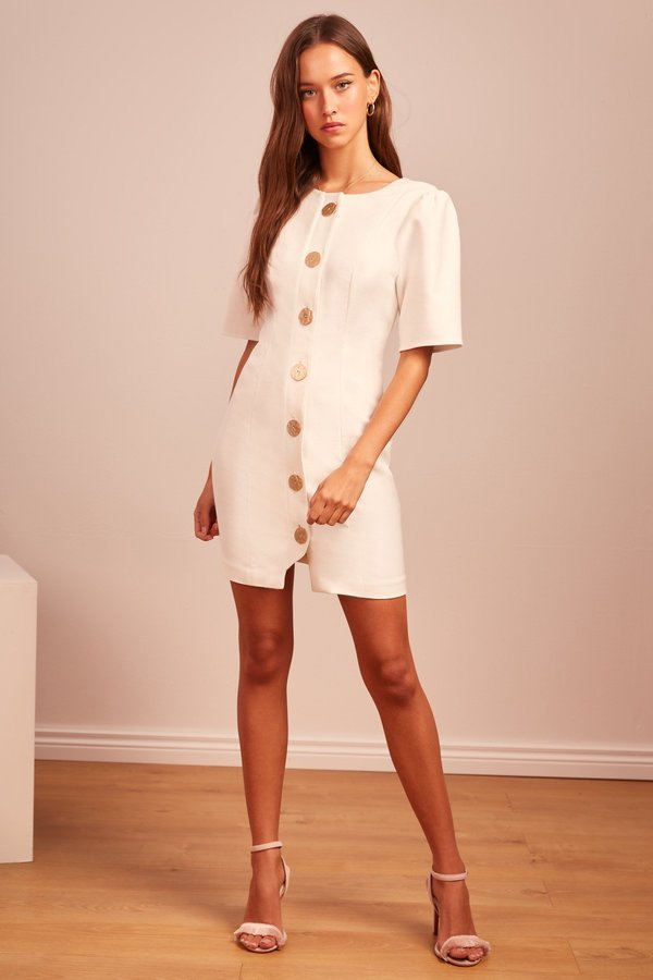 4188796f332a Finders Keepers Pompeii Mini Dress - Ivory | Garmentory