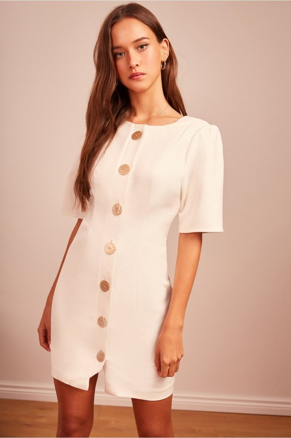 3f595c8ba410 Finders Keepers Pompeii Mini Dress - Ivory. $177.00. Finders Keepers