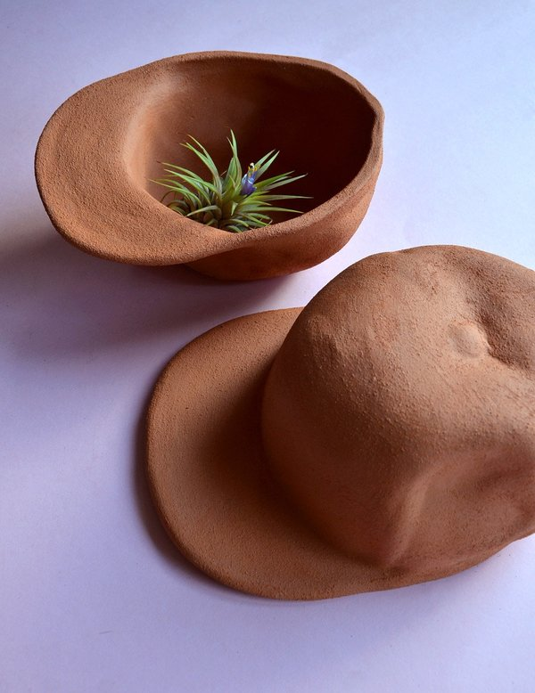 Wyatt Little HAT BOWL - TERRACOTTA