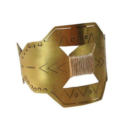 Luna Sol Toya Cuff - brass