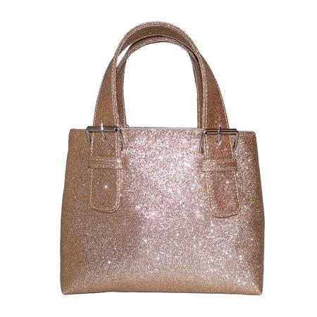 ALFEYA VALRINA Pasar mini tote - Gold glitter