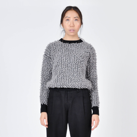Peter Jensen Loop Knit Sweater - Gray