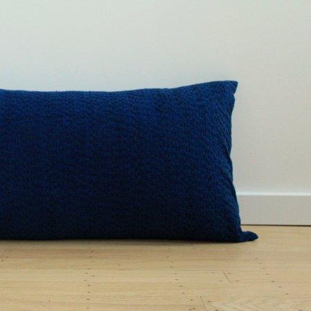 Anara Umbra Lumbar Pillow - Indigo