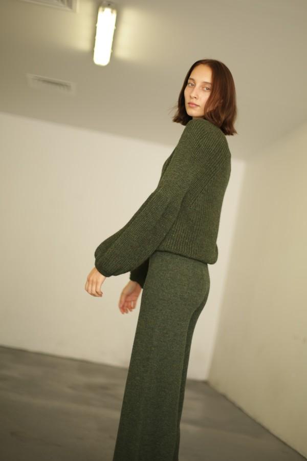 Mara Hoffman Nellie Pant - Olive
