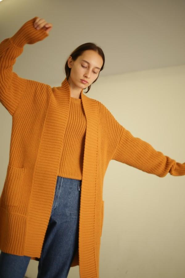 Mara Hoffman Nia Sweater - Mustard