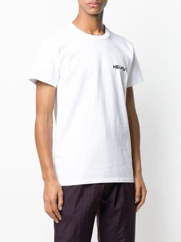 HELMUT LANG In Lang We Trust T-Shirt - Chalk white