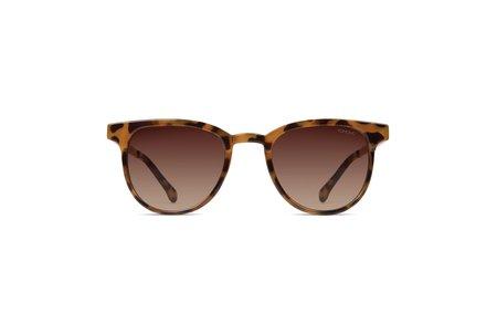 KOMONO Francis Sunglasses - Metal Rose Gold/Tortoise