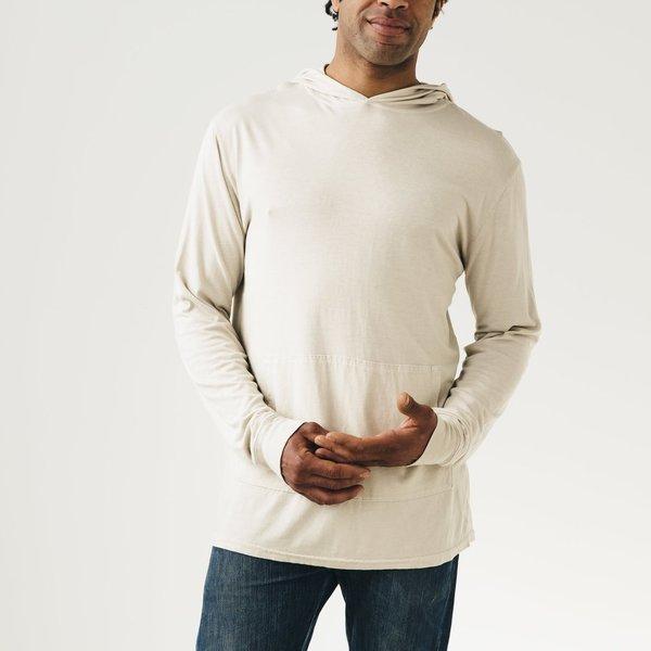 Jungmaven Long Sleeved Hoodie White Large