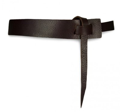 49 Square Miles Asymmetrical Hip Belt - Chocolate