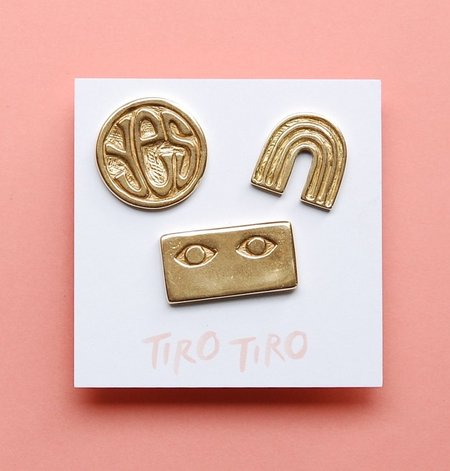 Tiro Tiro Positive Pin Set - BRASS