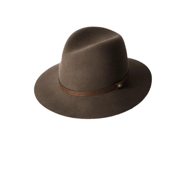 2b344d59dda Rag   Bone Floppy Brim Fedora Hat - Pecan