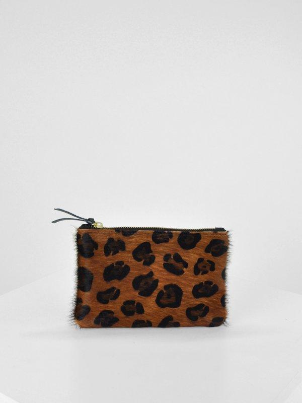 54ac1bd36 Primecut Cowhide Zip Wallet - Leopard | Garmentory