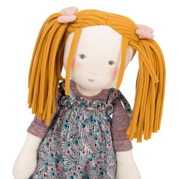 Kids Moulin Roty Les Rosalies Violette The Rag Doll