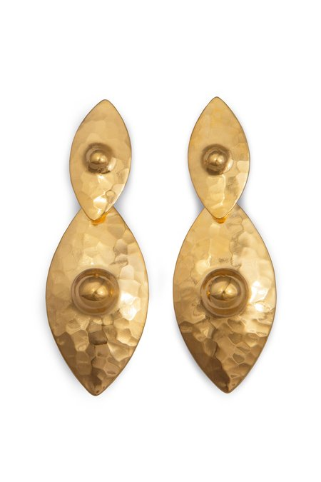 Elppin Nipple Drop Earring - Gold