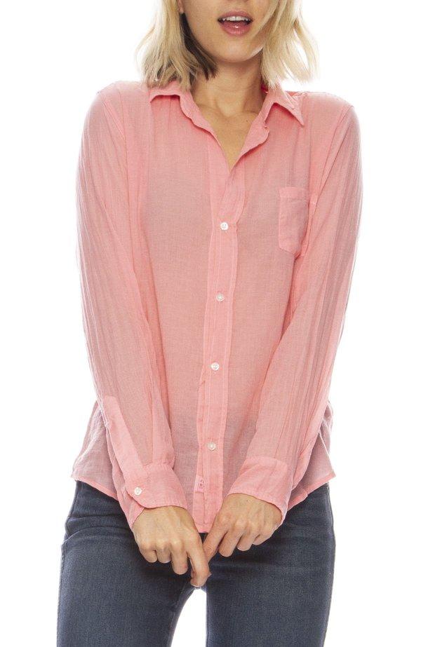 935da6e37 Frank & Eileen Barry Cotton Voile Button Down - pink | Garmentory