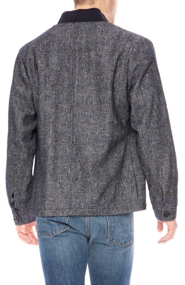 Oliver Spencer Berwick Button Down Jacket Tyler Navy Garmentory