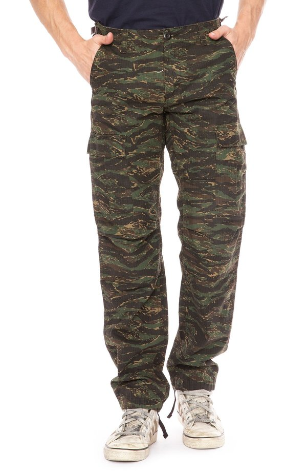5e0321c0f4d Carhartt WIP Aviation Cargo Pants - Camo Tiger | Garmentory