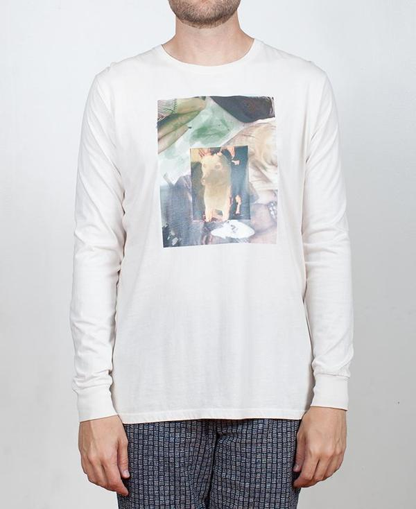Krammer & Stoudt Dog Art Tee - Off White