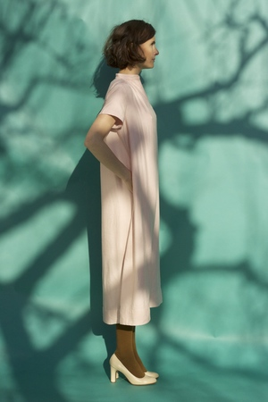 Sunja Link Gathered Dress