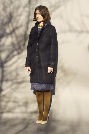 Sunja Link Tailored Wool Coat