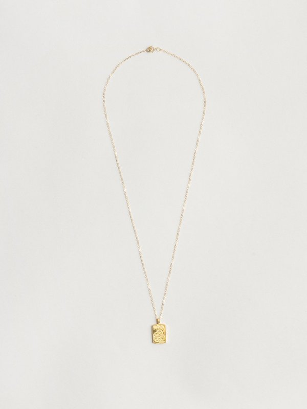 Wolf Circus Ophidian Necklace - Gold