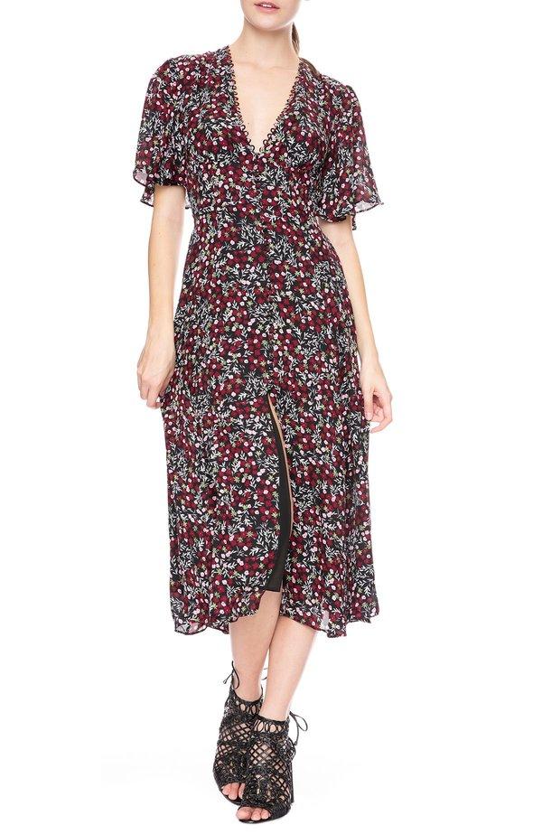 953816ad888d Nicholas Daisy Midi Dress - Floral | Garmentory