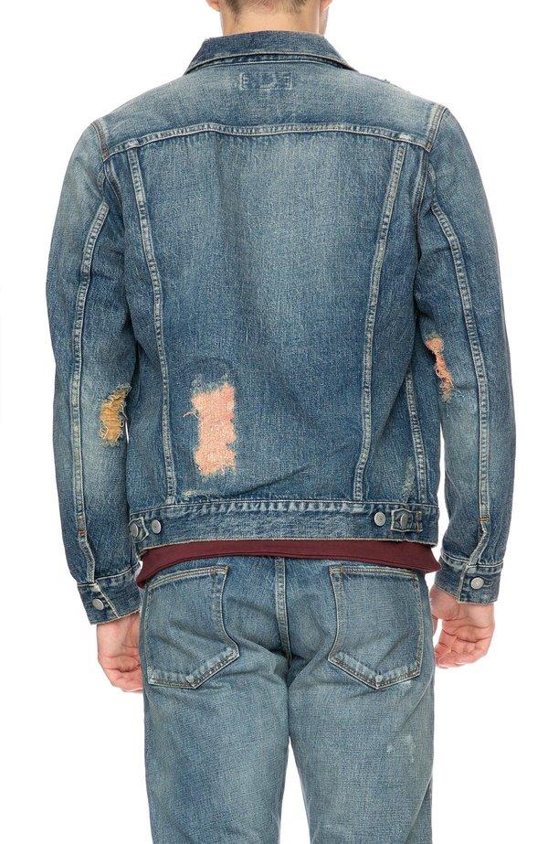 HBNS Denim Repair Jacket - REPAIR BLUE
