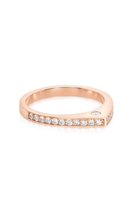 Carbon & Hyde Dewdrop Ring - GOLD