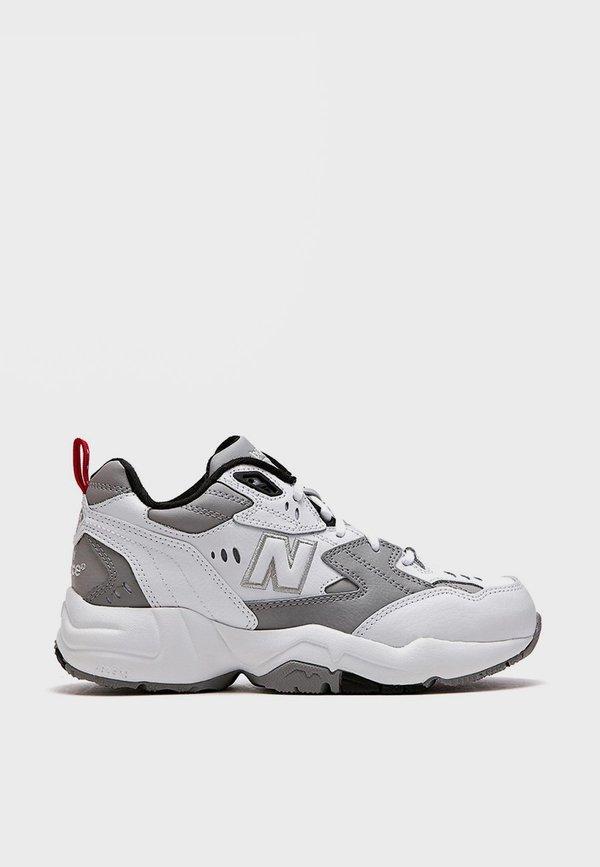 New Balance x608 - White/Grey on Garmentory