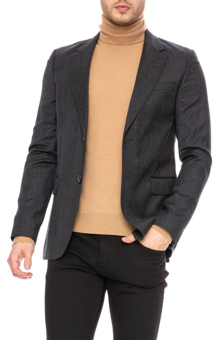 AMI Double Breasted Jacket - Anthracite