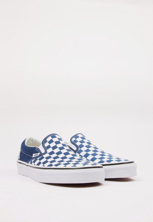 97cfec55505599 UNISEX VANS Classic Slip-On - estate blue white