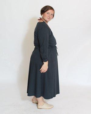 Kowtow Building Block Long Sleeve Lounge Dress