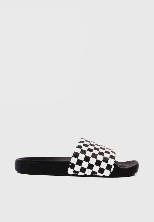aa9203353b VANS Slide On Checkerboard - black white