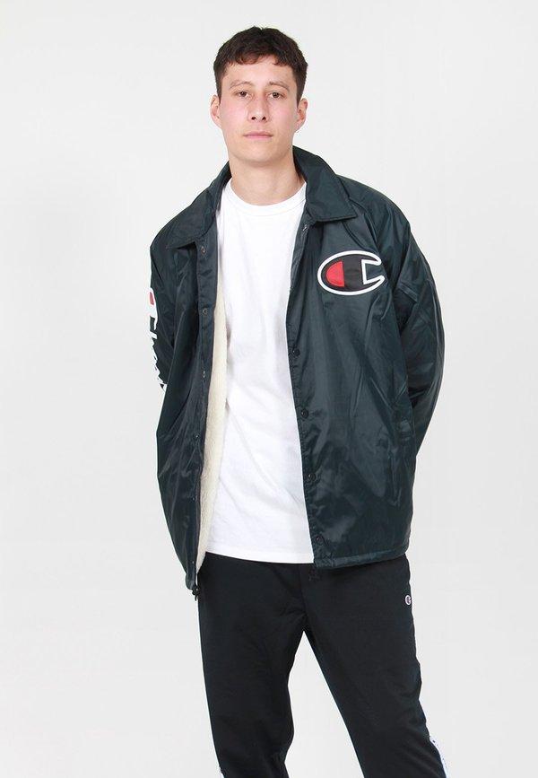 c3c9938854ed Champion Sherpa Lined Coaches Jacket - Black Black