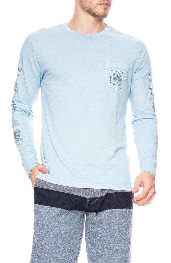 6a20e94374 Vissla Genie Long Sleeve T-Shirt - Ice Blue. sold out. VISSLA