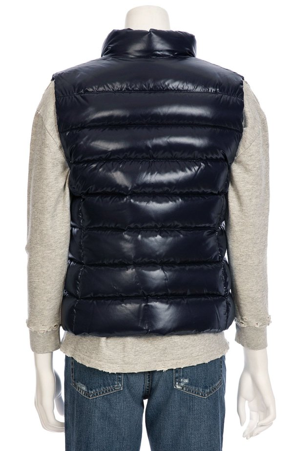 68f2a04c0 MONCLER Ghany Shiny Quilted Puffer Vest