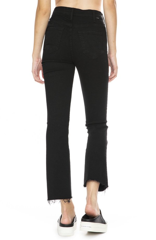 Mother Denim Hustler Ankle Fray Jeans - Not Guilty