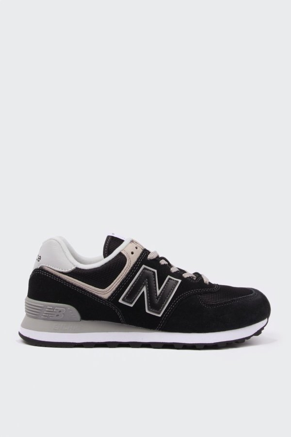 quality design 5ed9d f4d64 Unisex New Balance 574 Classic - Black/White Suede on Garmentory