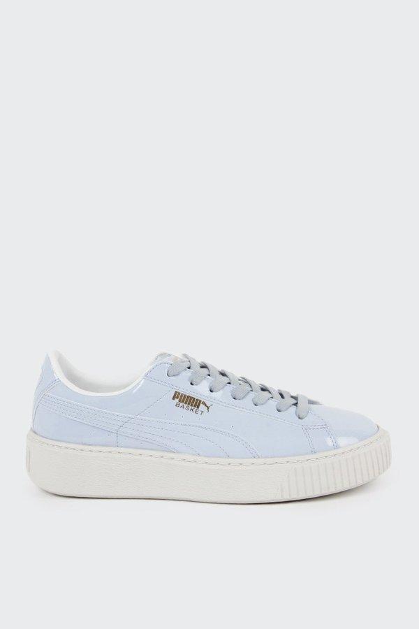 699cc12c1356 Puma Basket Platform Patent - halogen blue. sold out. Puma · Shoes ·  Sneakers