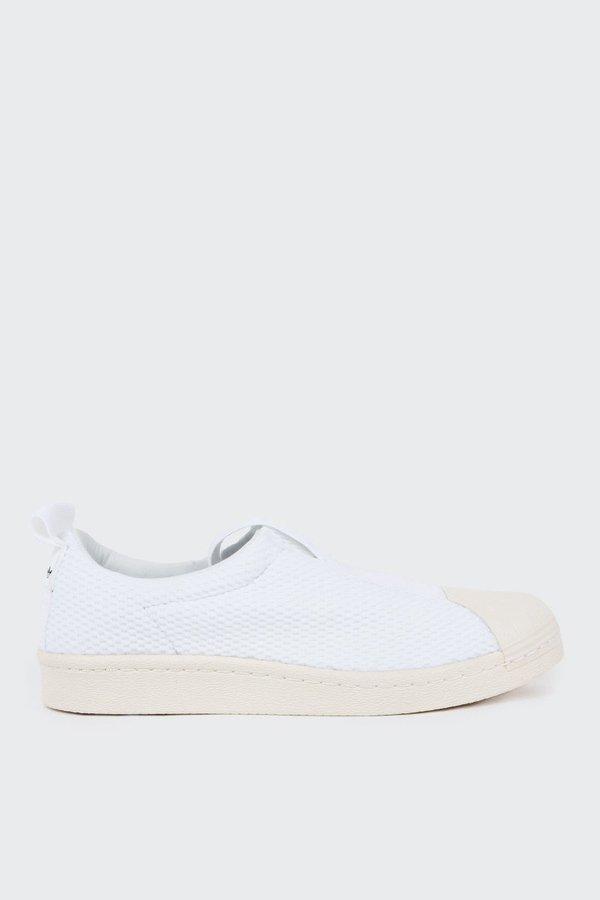save off 913c0 cae1b Adidas Superstar BW3s Slip On - White on Garmentory